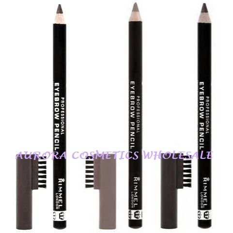Rimmel Professional Eyebrow Pencils with Brush x 9