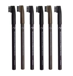 AC Professional Eyebrow Pencils & Brush Assortment x 18