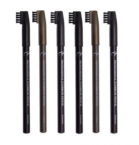 AC Professional Eyebrow Pencils & Brush Assortment x 18