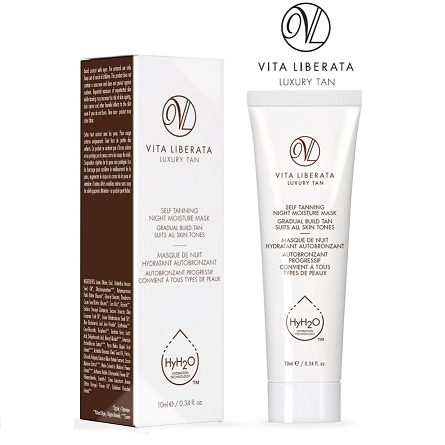 Vita Liberata Self Tanning Night Moisture Mask Gradual Build Tan 10ml