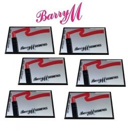 BarryM Cosmetic Mirrors x 6