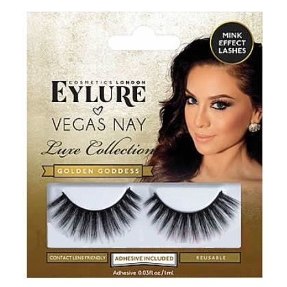Eylure Vegas Golden Goddess False Eyelashes x 6