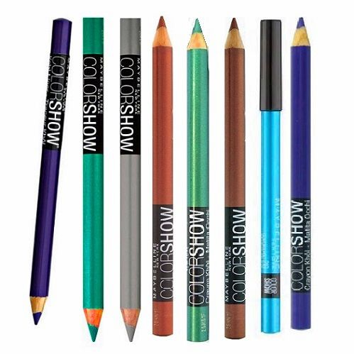 50 x Maybelline Colorshow Eye liner Pencils.