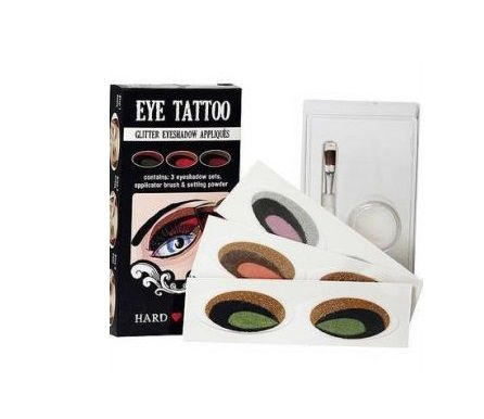Hard Candy Eye Tattoo x 6