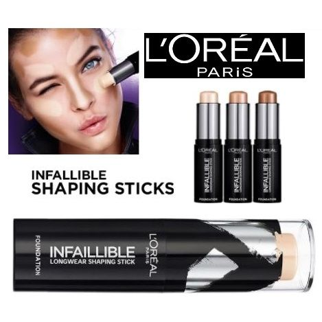 LOreal wholesale Infallible Stick Foundation Various Shades x 12