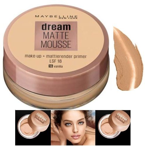 Maybelline Wholesale Dream Matte Mousse & Primer Make-up x 12