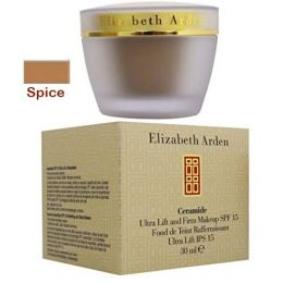 Elizabeth Arden Ceramide Ultra Lift and Firm Makeup SPF15 Spice x 1