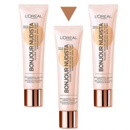 LOreal Bonjour Nudista BB Skin Tint Medium Dark X 6