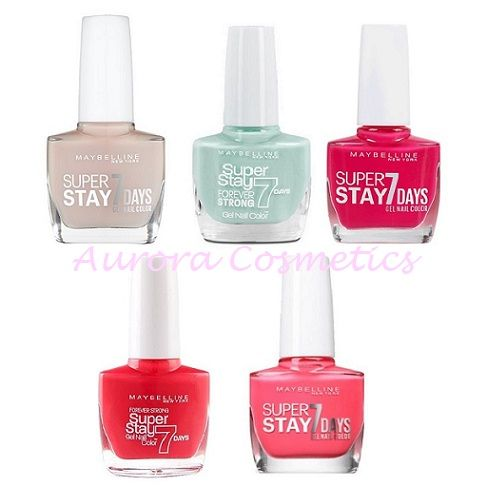 Maybelline SuperStay 7 Days Gel Nail Color x 30