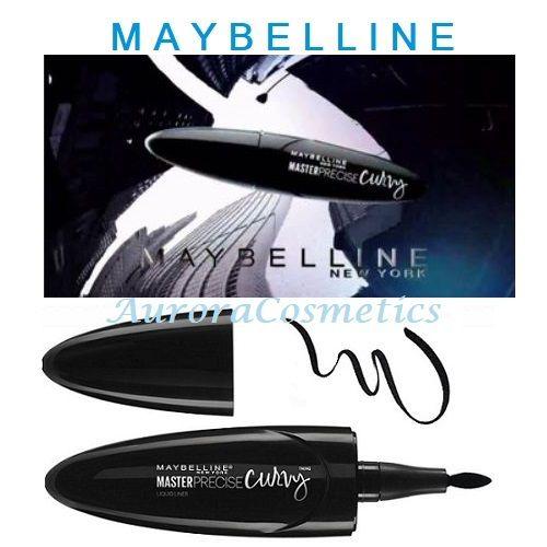 12x Maybelline Master Precise Curvy Eyeliner 01Black
