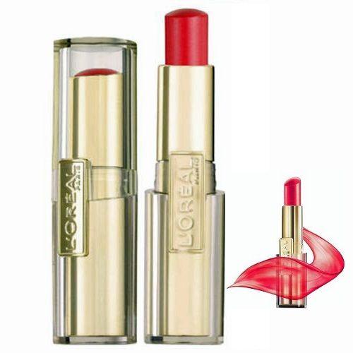 LOreal Paris Color Riche Caresse Lipstick 06 Aphrodite Scarlet