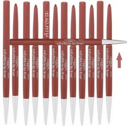 12 x L'Oreal Infallible Lip Liner 712 Chocolate Addiction