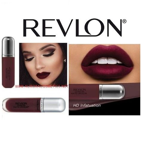 Revlon Ultra Hd Matte Lipcolor 675 Infatuation X 10