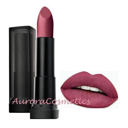 Maybelline Color Sensational Powder Matte Lipstick 10 Nocturnal Rose x 12