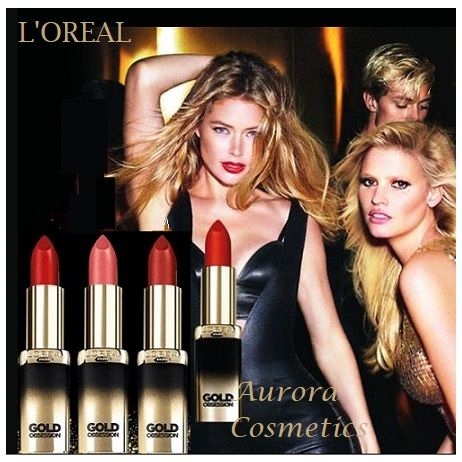 L'Oreal Color Riche Gold Obsession Lipsticks x 18