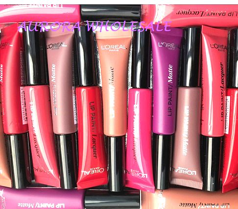 L'Oreal Infallible Lip Paint x 18