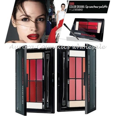 Maybelline Color Drama Lip Contour Palettes x 24