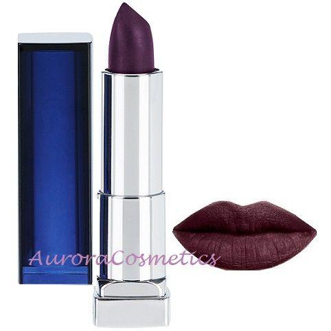 Maybelline Lipstick Mattes Bold Blackest Berry 887 x 12
