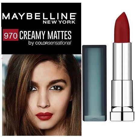 Maybelline Creamy Matte Lipstick 970 Daring Ruby x12
