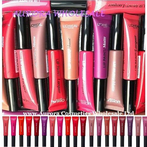 LOreal Infallible Lip Paint Assorted x 18