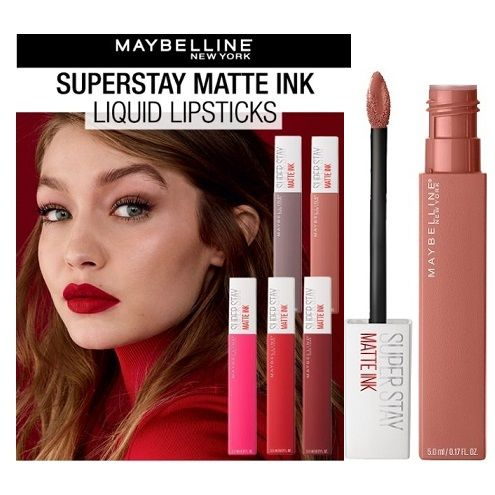 15 x Maybelline SuperStay Matte Ink Liquid Lipsticks