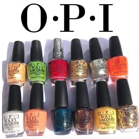 O.P.I Nail Polish Clearance x 12