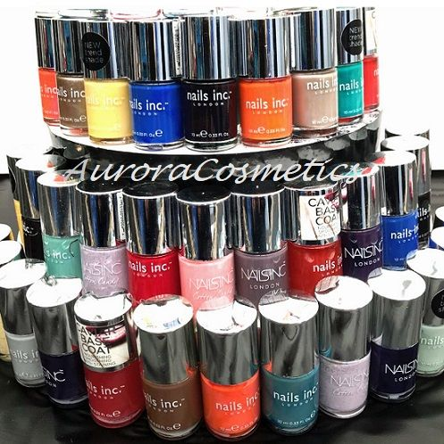 20 x Nails Inc Nail Polish Assorted Shades.