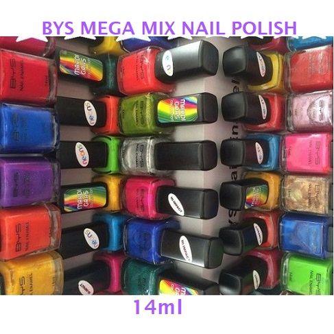 BYS Mega Mix Nail Polishesx 20