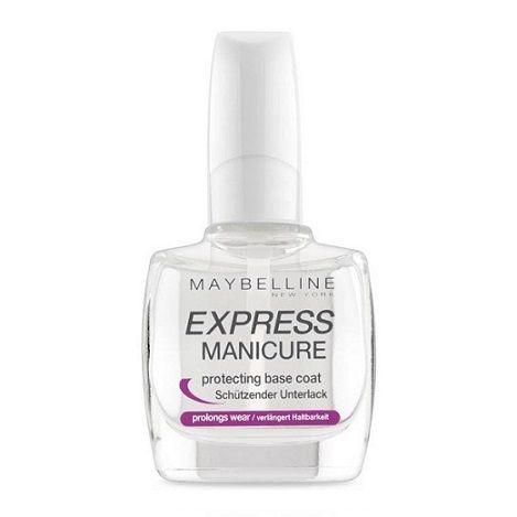 Maybelline Express Manicure Clear Base Coat Nail Polish x 6