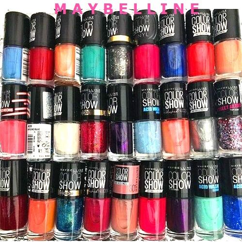 Maybelline Nail Polish Wholesale x 50