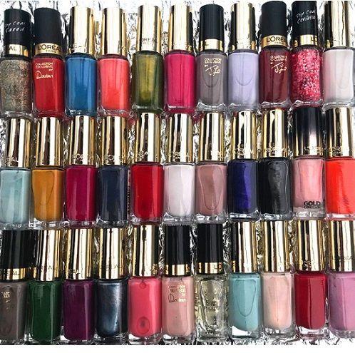 50 x L'Oreal Color Riche Nail Polish