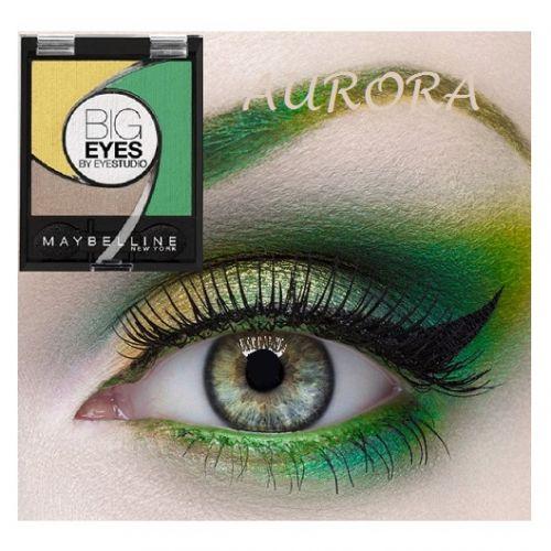 Maybelline Big Eyes Light Catching Eye Shadow Palette x 6