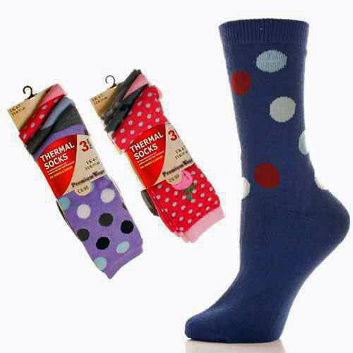 Thermal Socks pack of 3 x 6  N