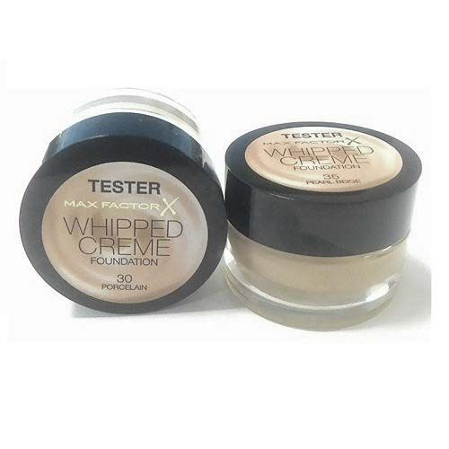 Max Factor Whipped Creme Foundation Testers x 9