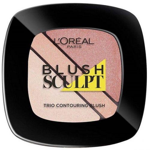 L'Oreal Sculpt Blush Palette Soft Sand x 12